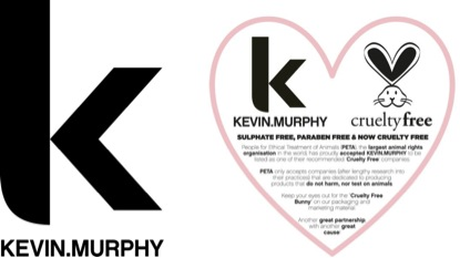 Proud to use Kevin Murhpy Hair Products at Polished Beautique, Derry, NH