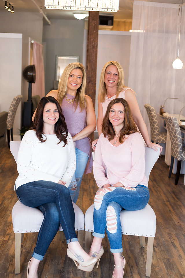 Polished Beautique Nail Technicians - Kendra, Joyce, Miranda, Kim
