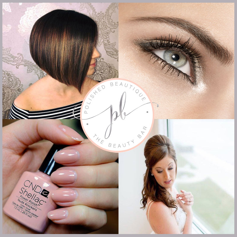 Learn About or Salon Services - Hair, Nails, Bridal, Specialty Services like Waxing, Tinting